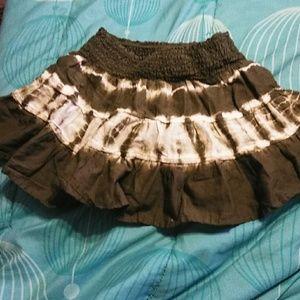 Girl Tie Dye Skirt